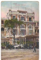 Cpa De EGYPTE - LE CAIRE -CAIRO - Grand Hôtel Continental - Cairo