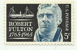 1965 - Stati Uniti 787 Nascita Di R. Fulton, - Celebrità