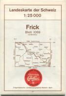 Landeskarte Der Schweiz 1:25'000 - Frick Blatt 1069 - Topographische Karte - Eidgenössische Landestopographie Wabern-Ber - Topographische Karten