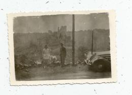 G-I-E , Photographie 9 X 7, 1946 , VALLEE DE LA CREUSE , Automobile - Lieux