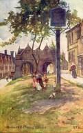 MISCELLANEOUS ART - MARKET HALL, CHIPPING CAMPDEN - G F NICHOLLS  Art182 - England