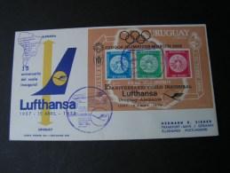 == Uruguay Lufthansa Flight Cv. Block 1972 - Uruguay