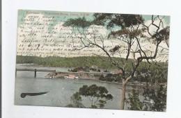 COMO 50302  N S W  ENTRANCE TO WORONORA RIVER 1907 - Australie