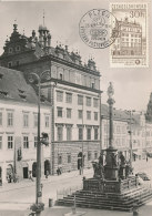 D23777 CARTE MAXIMUM CARD 1959 CZECHOSLOVAKIA - CITY OF PLZN PILSEN ORIGINAL - Architecture