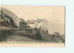 VILLARD De LANS - Route De Grenoble à Villard - Engins -  TBE - 2 Scans - Villard-de-Lans