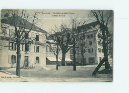 VILLARD De LANS - Grand Hôtel De PARIS En Hiver - 2 Scans - Villard-de-Lans