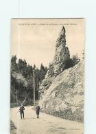 VILLARD De LANS -  Route De La Bourne Animée - Roche Pointue - 2 Scans - Villard-de-Lans