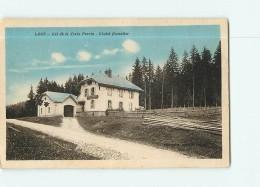LANS En VERCORS -  Col De La Croix Perrin - Chalet Forestier Colorisé -   2 Scans - Villard-de-Lans