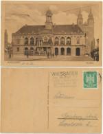 AK Magdeburg 1926, Dom, Rathaus, Menschen - Magdeburg