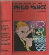 PHILO VANCE DI VAN DINE MONDADORI 1968 - Libri, Riviste, Fumetti