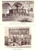Perugia - Lotto 2 Cartoline FONTE MAGGIORE IN PIAZZA DELLA CATTEDRALE + PALAZZO PUBBLICO, Anni '90 - OTTIMO M74 - Perugia