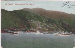AMERIQUE,Vénézuela En 1921,LA GUAIRA,vista Del Porto,état De Vargas,mer Des Caraibes,port,prés Caracas,rare,voilier,rare - Venezuela