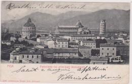 Italie,italia,TOSCANA,TOSCANE,PISA,PISE,panorama Coi Principali  Monumenti,rare,avec Timbre - Pisa