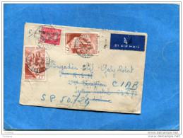MARCOPHILIE-lettre- Françe-cad 1948-pour INDOCHINE  T O E  SP 62673-Réexpediée SP 50724-cad Arrivée SP 405 - Marcophilie (Lettres)