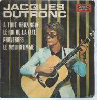 """45 Tours EP - JACQUES DUTRONC  - VOGUE 8648 - """" A TOUT BERZINGUE"""" + 3 - Vinyles"""