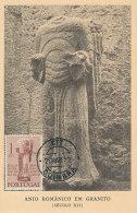 D23800 CARTE MAXIMUM CARD 1952 PORTUGAL - ROMAN SCULPTURE CP ORIGINAL - Sculpture
