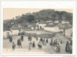 ALGER ALGERIE PLACE DU VILLAGE KABYLE TAOURIRT AMOKRAM CPA BON ETAT - Algiers