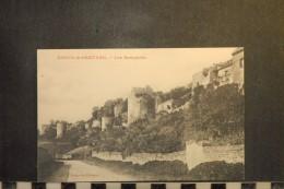 CP, 02, COUCY LE CHATEAU Les Remparts    Edition Colin - France