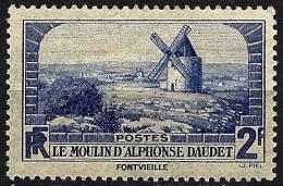 "YT 311 "" Moulin D´Alphonse Daudet "" 1936 Neuf ** - France"