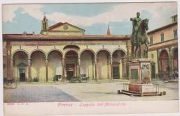 Italie,italia,FLORENCE,FIRENZE,toscana,toscane,berceau De La Renaissance,unesco,LOGGIATO DELL´ ANNUNZIATA,rare - Firenze (Florence)