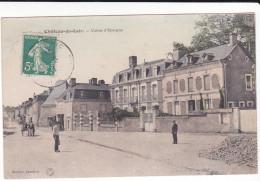 CPA CHATEAU DU LOIR SARTHE CAISSE D EPARGNE 1911 - Chateau Du Loir