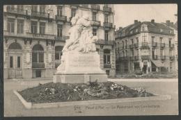 Heist / Heyst Sur Mer / Knokke - Le Monument Aux Combattants (2 Scans) BE / West-Vlaanderen - Heist