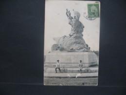 """CPA  Etats-Unis / Virginia / Berryville  """"  Monument élevé à La Mémoire Des Victimes """"  Voyagé - Etats-Unis"""