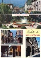 Vittorio Veneto - Lotto 2 Cartoline 2 MINI VEDUTE  + 3 MINI VEDUTE, Anni '60/70 - OTTIMO M74 - Treviso