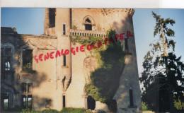 87 - SAINT BONNET DE BELLAC - CHATEAU DE BAGNAC   PHOTO ORIGINALE SEPTEMBRE 2001 - Photographs