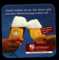BIERDECKEL / BEER MAT / SOUS-BOCK : Generali Versicherungen - Sous-bocks