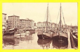 * Antwerpen - Anvers - Antwerp * (Nels, Série 25, Nr 61) Quai Flamand Et Wallon, Vlaamse En Waalse Kaai, Bateau, Péniche - Antwerpen