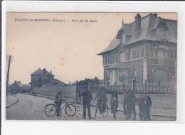 FLAVY-le-MARTEL : Rue De La Gare - Très Bon état - France