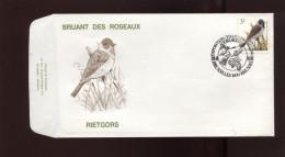 Belgie Andre Buzin Birds FDC 2425 Bruxelles - 1985-.. Oiseaux (Buzin)