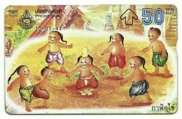 Tailandia - Tessea Telefonica Da 50 Baht T83, - Giochi