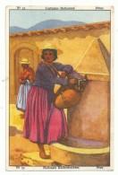 Chromo's Meurisse - Nationale Klederdrachten - Peru - Cromos
