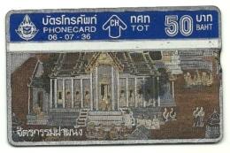 Tailandia - Tessea Telefonica Da 50 Baht T84, - Tailandia