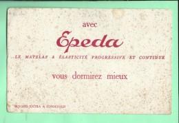 BUVARD: Epeda, Matelas - Buvards, Protège-cahiers Illustrés