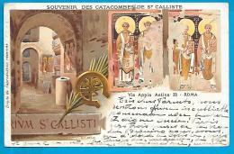 Roma - Souvenir Des Catacombes De St Calliste - Roma (Rome)