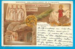 Roma - Souvenir Des Catacombes De St Calliste - Altri