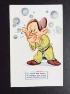 AK   WALT DISNEY      SNOW WHITE AND THE SEVEN DWARFS   DOPEY   1930´s - Disneyworld