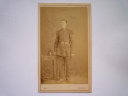 Photo D´un Militaire Du  36è  Rgt :  Jolie Photo Format  10,5 X 6,5cm   ROY  Photographe  NEUILLY  - Anciennes (Av. 1900)