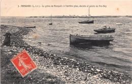 ¤¤  -  3  -  QUIMIAC  -   MESQUER   -   La Grève De Merquel ; à L'arrière Plan, Chalets Et Pointe De Pen-Bey    -   ¤¤ - Mesquer Quimiac