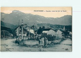 FRONTENEX - LACROIX Route Du Col De Tamié Animée - TBE -  2 Scans - France