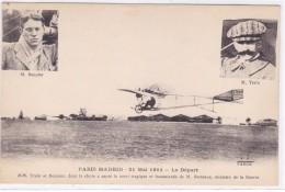 Aviation - Paris-Madrid - 21 Mai 1911 - Le Départ - Aviazione