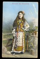 Salutari Din Romania / Censorship Cancel On The Back / Postcard Circulated, 2 Scans - Romania