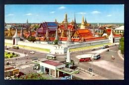 The Emerald Buddha Temple / Postcard Circulated, 2 Scans - Thailand