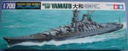 Battleship Yamato 1/700 (  Tamiya ) - Boats