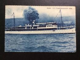 AK   WARSHIP     KRIEG   SCHIFFE   BOAT  SHIP    S. S.  PRESTOLONASLEDNIK PETAR - Guerra