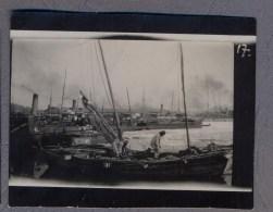 VLADIVOSTOK Vladivostock  Wladiwostok Russian Civil War 1920y.  Port  Korean Boat  Cruiser Photo      C467 - Russie