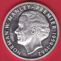 Jamaïque - 5 Dollars Argent 1975 - FDC - Jamaica